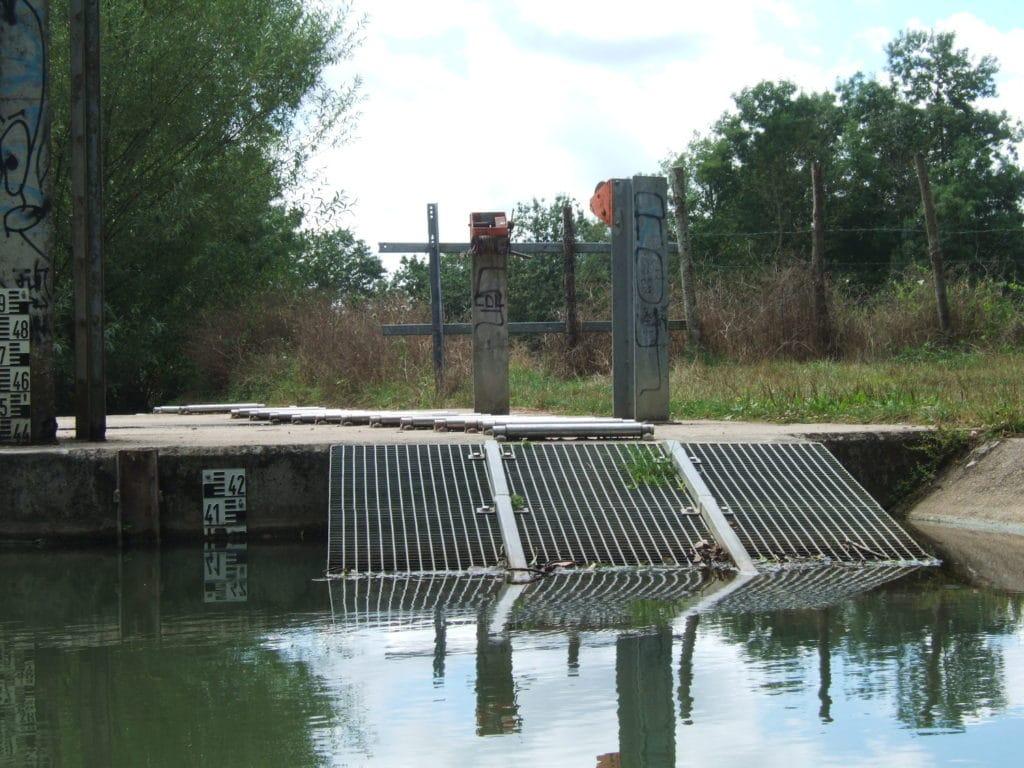 passe à canoës du barrage de l'Ouchette